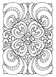 Free Coloring Page Abstract Zen