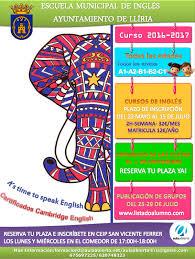 Escuela Municipal de Inglés Abierto el plazo de inscripci³n para