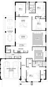 4 Bedroom Houses For Rent by Great 4 Bedroom House Plans Graphicdesigns Co