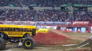 100 Monster Trucks Indianapolis Freestyle Jam Higher Education January 26 2013
