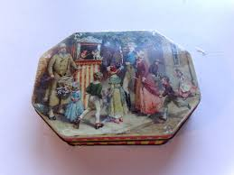 Daher Decorated Ware 1971 by Rare Vintage Thorne U0027s Premier Toffee Tin Leeds England Punch And