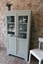 cabinet chalk color display cabinet cabinet vintage