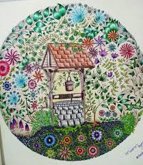 Well Secret Garden Poco Jardim Secreto Johanna Basford