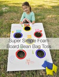 Super Simple DIY Bean Bag Toss The Mother Huddle