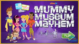 Dora The Explorer Halloween Parade Wiki by The Fresh Beat Band Spies Mummy Museum Mayhem Episode Nickjr