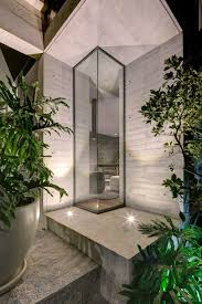 100 Glass Floors In Houses A Concrete House In Mexico City Surrounded By Gardens Design Milk