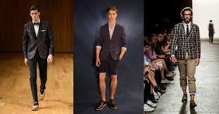 Printed Jackets Mens Fashion New York Week Spring Summer 2014