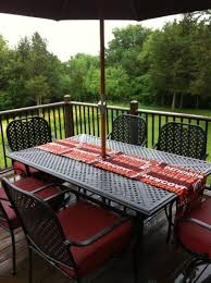 Patio Tablecloth With Umbrella Hole by Umbrella Under Ground