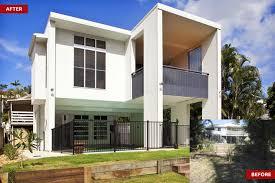 100 Dion Seminara Architecture Hamilton Queenslander Home Modern Rear Extension Dion