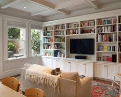Chic Family Room Shelving Ideas Built In Living Shelves Pictures Remodel And Decor