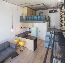 Loft Studio Apartment Design Ideas 300 Square Foot Micro With Space Saving