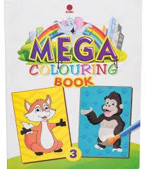 Mega Colouring Book 3