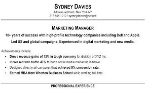A Short Resume
