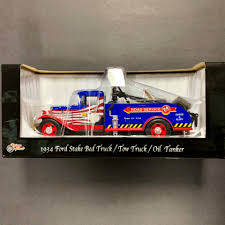 100 Truck Tow 1934 Ford Stake Bed Oil Tankern 124 Scale
