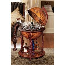 design toscano sixteenth century italian replica globe bar amazon