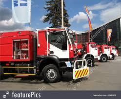 100 Blue Fire Trucks Transportation Line Of Stock Image I2457935 At