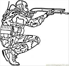 Freemilitary Printable Coloring Pages