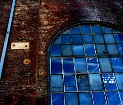 100 Warehouse Sf Abandoned Dogpatch SF Brick Wall Red Blue Window