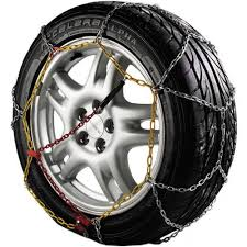 Auto Tecnik Pair Of Corrosion Resistant Car Tyre KNS Snow Chains ...