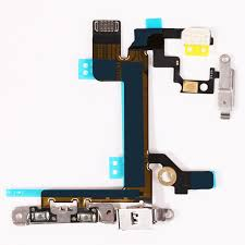 NEW Power Mute Volume Flex Cable For iphone 5S Button Switch