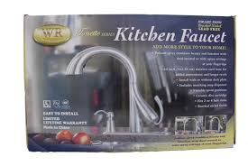 Water Ridge Pull Out Kitchen Faucet Troubleshooting by Water Ridge Tonette Series Kitchen Faucet Touch On Kitchen Sink