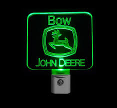 John Deere Bedroom Decor by Personalized John Deere Night Light Customized With A Name Free