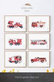 Fire Truck Print, Firetruck Birthday, Firetruck Print, Fire Truck ...