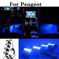 Aliexpress.com : Buy New Car Styling Blue LED Interior Atmosphere ...