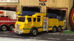 100 Matchbox Fire Trucks My Code 3 Truck Display YouTube