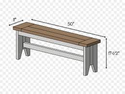 Bench Seat Table Dimension