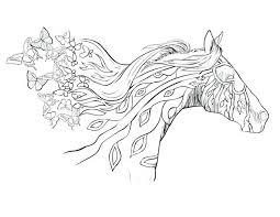 Quarter Horse Head Coloring Page Picture Printables Free Download Pages Adults Pictures To Color Online