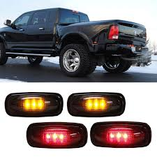 100 2003 Dodge Truck Amazoncom IJDMTOY Smoked Lens AmberRed LED Rear Bed Side Marker