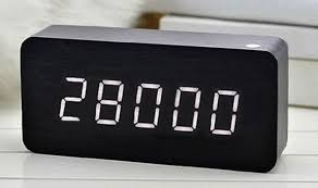 28000 Days Is All We Have To Live Says Clock