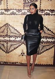20 Style Tips On How To Wear A Leather Skirt This Winter Gurl Pencil