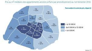 prix immobilier chambre des notaires cartes prix de l immobilier à les arrondissements qui