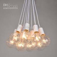 edison vintage style 8bulbs chandeliers l ceiling pendant