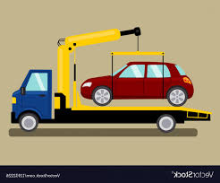 100 Tow Truck Vector Takes Away Car Cartoon SOIDERGI