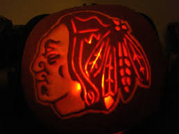 Printable Blackhawks Pumpkin Stencil by Blackhawks Halloween Pumpkin Templates Pictures To Pin On