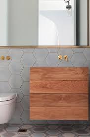 Tile Designs For Bathroom Walls by Best 25 Hex Tile Ideas On Pinterest Subway Tile Bathrooms