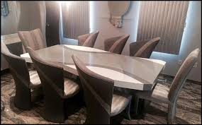 Custom Contemporary And Modern Dining Rooms Including Chairs Tables