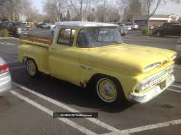 1960 Chevrolet Apache Short Bed Step Side
