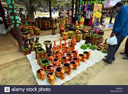Chhattisgarh S Crafts Made From Terracotta Brass Wood Bamboo And Wrought Iron Surajkund International Mela Feb 2015