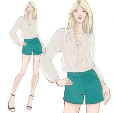 Illustration For Fashion Design