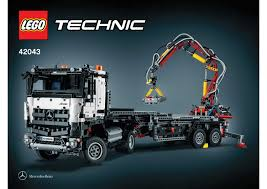 Lego Technic Camion Mercedes. Lego Technic 42043 Mercedes Benz Arocs ... Lego City Race Car Transporter Truck Itructions Lego Semi Building Youtube Tow Jet Custom Vj59 Advancedmasgebysara With Trailer Instruction 6 Steps With Pictures Moc What To Build Legos Semitrailer Technic And Model Team Eurobricks And Best Resource