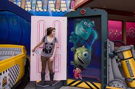 Whitney At Monsters Inc 7857 Opening a door to fantasy Wh…