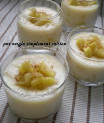 crème dessert légère aux pommes simplement cuisine