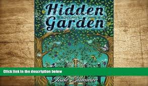 Download PDF Hidden Garden An Adult Coloring Book With Secret Forest Animals Enchanted Flower