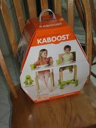 Kaboost Portable Chair Booster Chocolate by Review Kaboost Mom Of 3 Girls