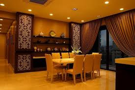 Lovely Wallpaper Dining Rooms Modern Oriental Gorgeous Asian Room With Small Table Also Chairs Near Wall Decor