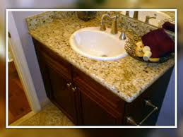 Install Overmount Bathroom Sink by Drop In Bathroom Sink With Granite Countertop 100 Images Drop